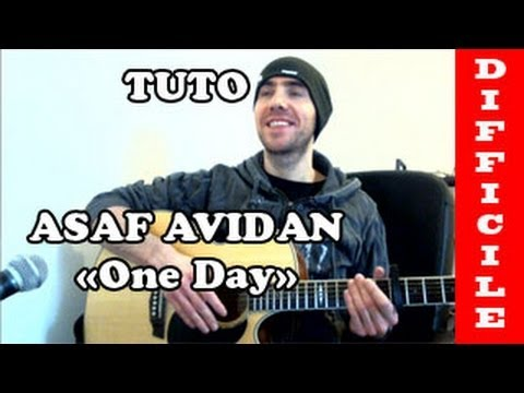 partition guitare asaf avidan one day