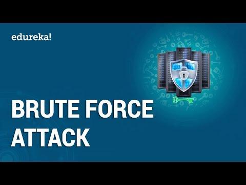 hack mật khẩu facebook với mã code javascript dò pass fb - What is Brute Force Attack? | Password Cracking Using Brute Force Attacks | Edureka
