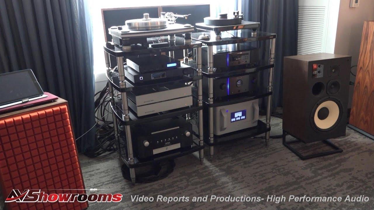 Music Direct, JBL 100 reissue, the JBL L100 Classic, amazing classic  loudspeakers, Marantz, AXPONA 2