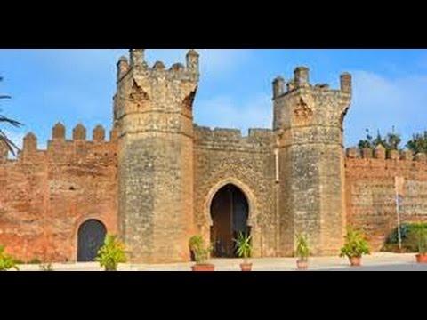 LE CHELLAH & CITE ROMAINE RABAT MAROC - باب شالة بالرباط المغرب