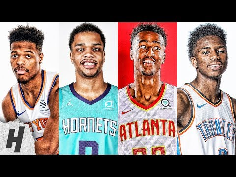 VERY BEST DUNKS | 2019 All-Star Dunk Contest | Dennis Smith Jr., John Collins, Bridges & Diallo