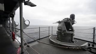 2018年最新映像!ソマリア海賊 VS アメリカ海軍、ロシア海軍 ソマリア ...