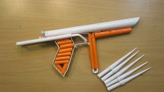 Video How to make a Paper Cylon Pistol that shoots paper Bullets - Easy Paper Gun Tutorials download MP3, 3GP, MP4, WEBM, AVI, FLV Agustus 2017
