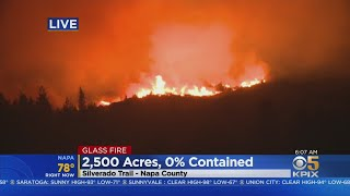 GLASS FIRE: Out Of Control Glass Fire Burns Wineries, Forces Evacuations In St. Helena And Calistoga