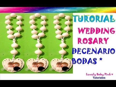 Decenario Pasta Flexible Paso A Paso Wedding Rosary Cold Porcelain Polymer Clay