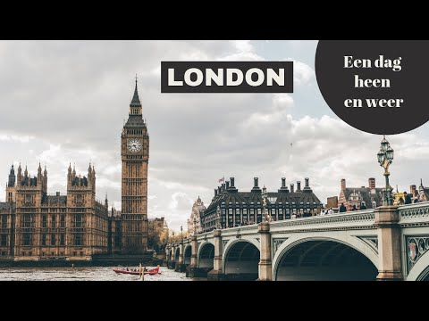 Londen City Guide // 1 dag heen en weer naar Londen