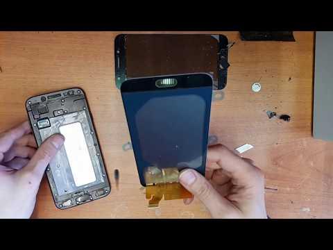 Samsung J7 2017 Замена дисплея