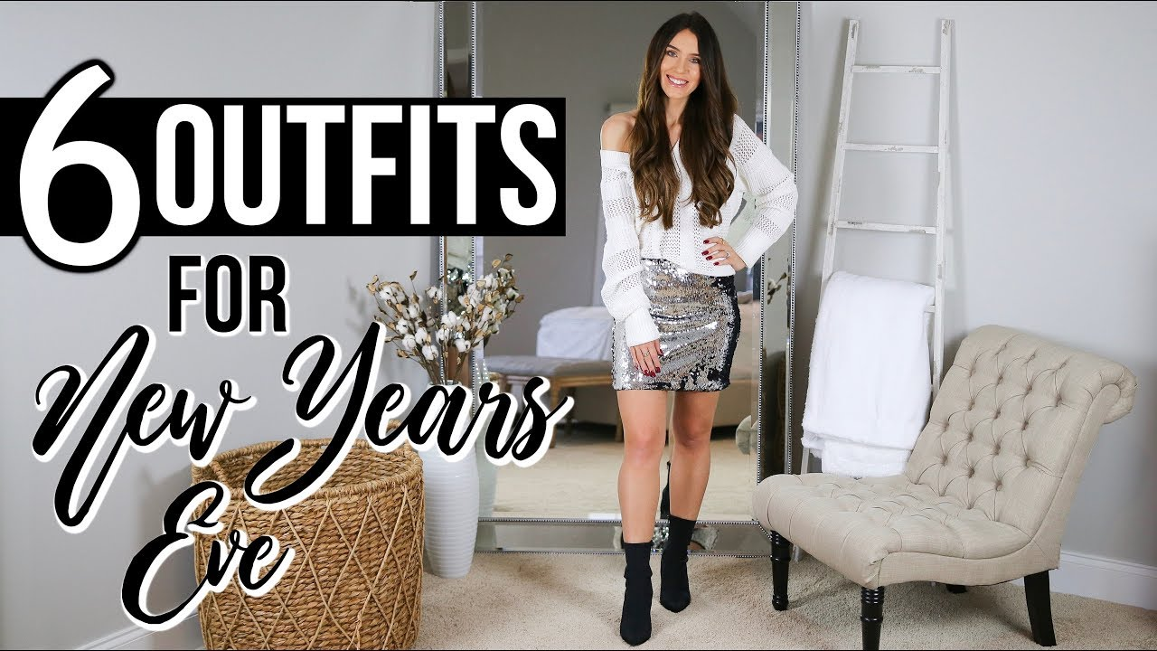 e320786532a2 6 Outfit Ideas For NEW YEAR'S EVE | What To Wear - YouTube