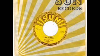JOHNNY CASH -  HEY PORTER -  CRY CRY CRY -  SUN 221