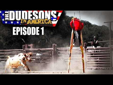 FOLLOW THE LEADER w Johnny Knoxville  Dudesons In America  Episode 1