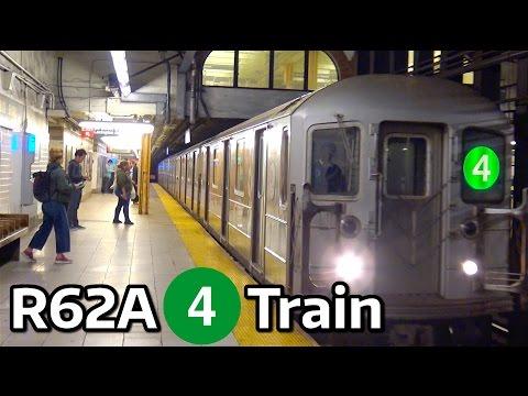 ⁴ᴷ R62A 4 Trains in Manhattan