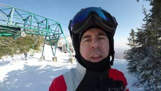 Ski VLOG à Mad River Glen, Vermont - 28 février 2017 - GoPro