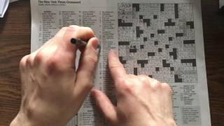 NYT 26Mar17 Crossword Puzzle Gimmick Explained