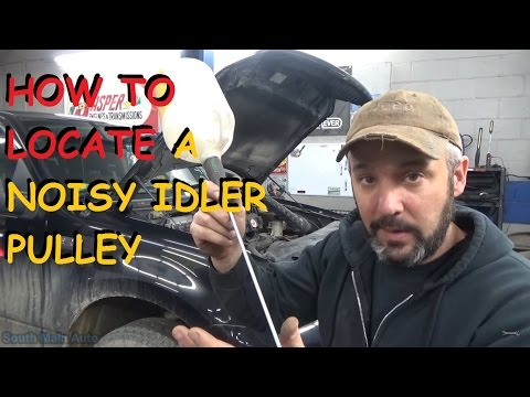 how-to-locate-a-noisy-idler-pulley