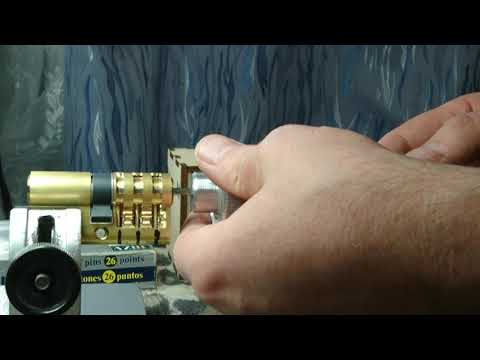 Взлом отмычками AZBE HS-3  AZBE HS-3 Locksmith tool - Rotorpick.com (AZBE HS-3 Locksmith tool - Rotorpick.com)