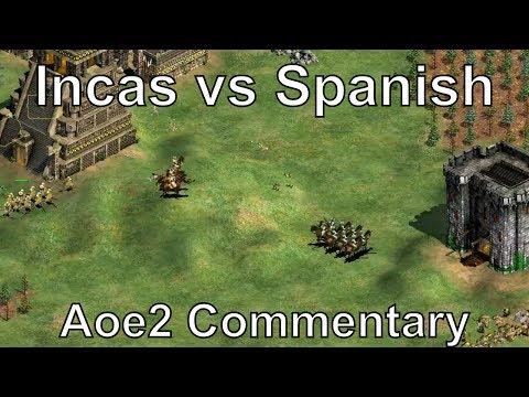 Aoe2: Insane Back-and-Forth! (Incas vs Spanish)