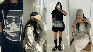 원브랜드 여름룩북, 패션하울, 바캉스룩, 데일리룩, 여…