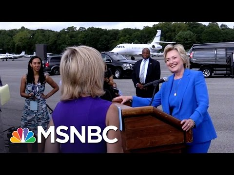 This Is How You Get An Answer.  Andrea Mitchell  MSNBC