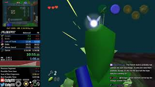 Ocarina of Time 100% Speedrun in 3:54:52 (With Chat)