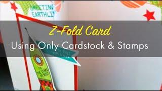 إنشاء Z أضعاف بطاقة: من هذا الفضاء العالمي موضوع الولد الصغير