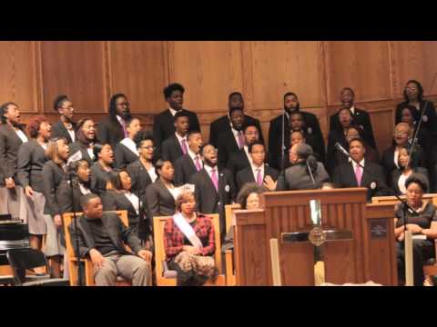 Wiley College Choir Chapel Performance