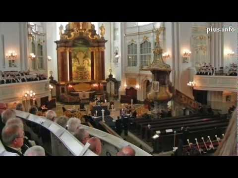 Masonic Rituals at St. Michaelis Church, Hamburg, Michaelmas Day, 29th Sept. 2012