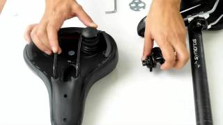 How to mount your new bike saddle by Bikeroo