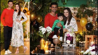 Sania Mirza Celebrated Her 34th Birthday with Family at Home ,Picture of Birthday!Indian Tennis Star