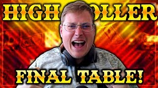 $13,000 FOR THE WIN! $530 HIGH ROLLER FINAL TABLE!   PokerStaples Stream Highlights
