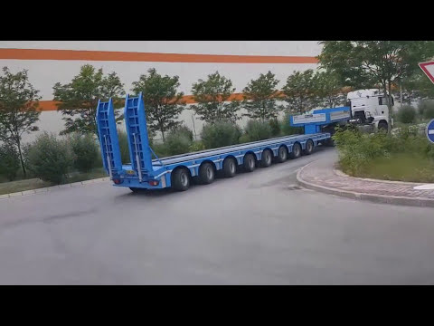 semi-low-loader-hydraulic-steering