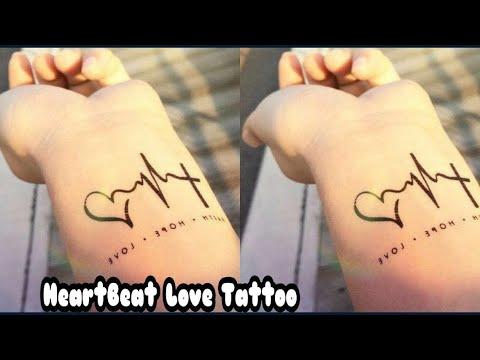 Easy Temporary Henna Tattoo  Love Henna Tattoo  Heart Beat Henna Tattoo  Gorgeous Mehndi Tattoo