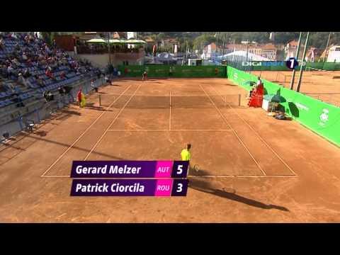 Ciorcila Patrick vs Gerald Melzer, partea II, Brasov, 6 Septembrie 2013