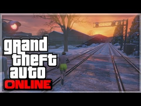 GTA 5 | North Yankton Glitch (GTA V Online Funny Moments)