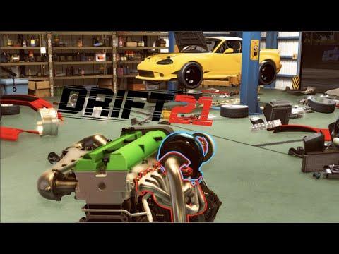 DRIFT21 - Building 1000hp Turbo I6 Engine + NEW TRACK UPDATE!! (Mazda MX5)