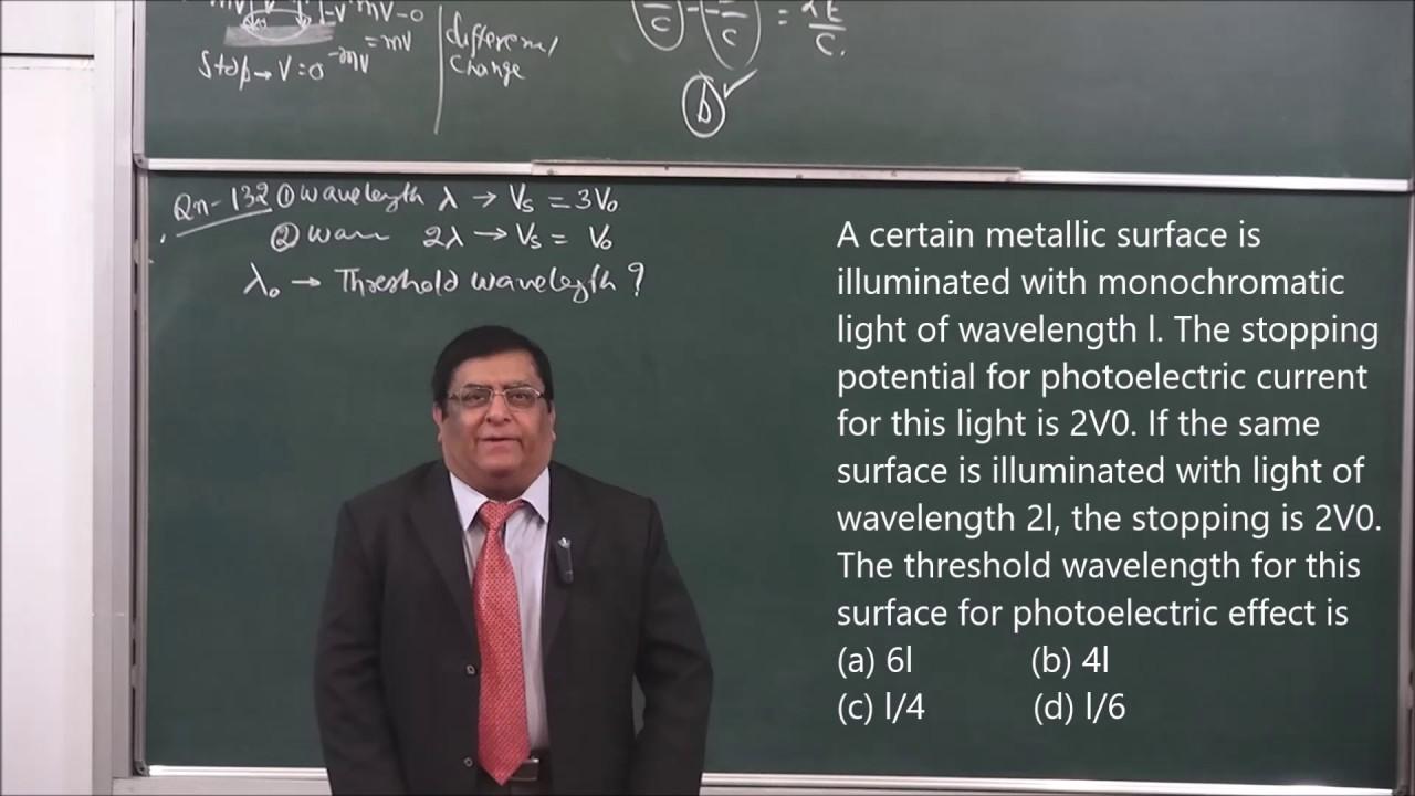 Neet 14 modern physics 2017 pradeep kshetrapal physics channel
