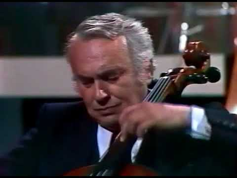 Maurice Gendron- Haydn Cello Concerto D Major (2nd mov.)