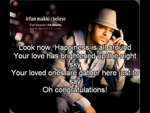 Irfan Makki   Mabrook with Lyrics   YouTube