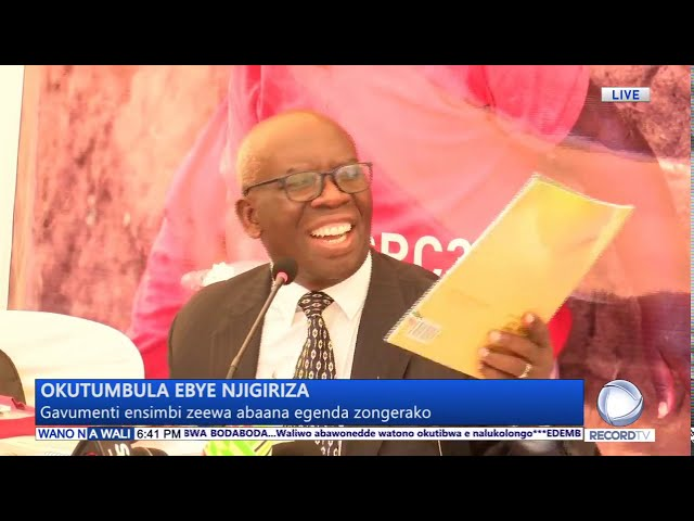 okutumbulaa ebye njigirizaa muu Uganda