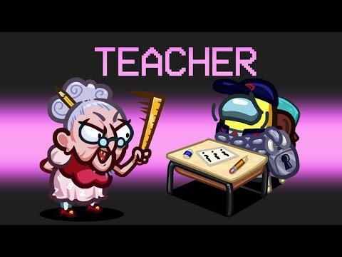 TEACHER IMPOSTER Mod in Among us