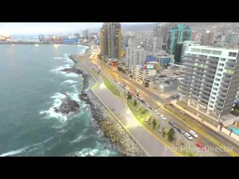 Antofagasta Perla del Norte ,Vista de Pajaro