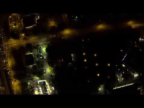 Night Flight UAV - Checking up on the city.