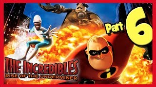 The Incredibles: Rise of the Underminer Walkthrough FINAL BOSS!