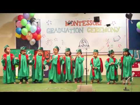 PreSchool and Montessori Graduation Ceremony 2016 (H-11 Campus)