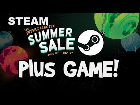 STEAM SUMMER SALE 2018! Best Deals, Dates, SALIENS GAME, Cards and Intergalactic Badge!