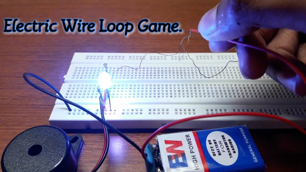 Electronics Solutionssimple Electronics Wire Loop Game
