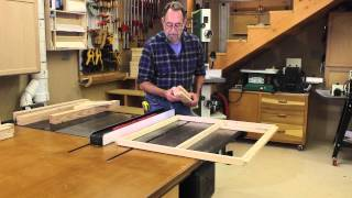 The Down To Earth Woodworker - Dust Free Finishing Enclosure - Part 2