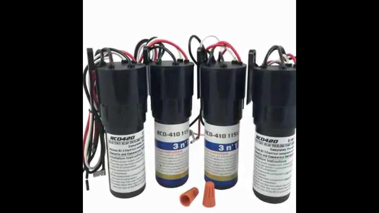 motor capacitor start run wiring diagram motor capacitor start run  YouTube