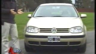 TEST VW GOLF TDi 2001  AUTO AL DÍA