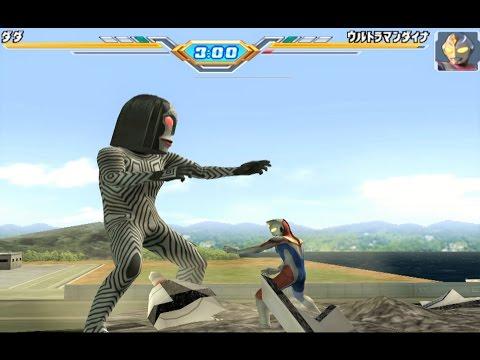 Sieu Nhan Game Play   Trận đấu Ultraman theo yêu cầu 22-12 #2   Game Ultraman figting eluvation 3