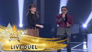 Via Vallen x Judika Enak Banget Nyanyikan [SAYANG] | Live Duel | Rising Star Indonesia Dangdut